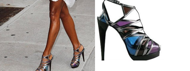 Jada Pinkett Smith and her space shoes