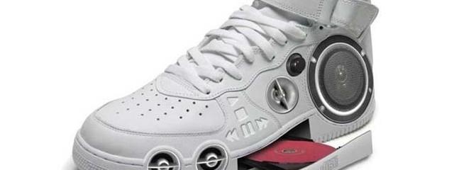 Boombox shoe