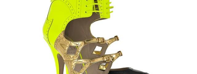 Radioactive Wingtip Shoes