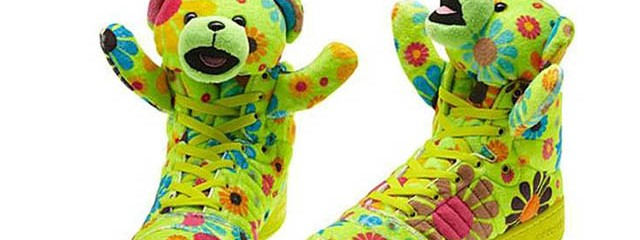 Lil' Wayne Teddy Shoes