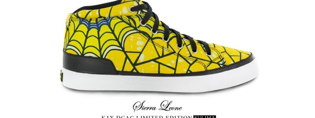 Yellow Spider Shoes