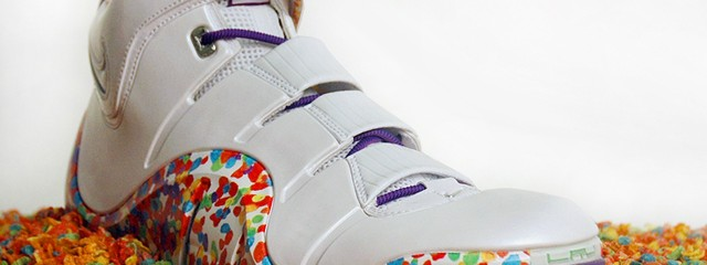 Fruity Sneakers for LeBron