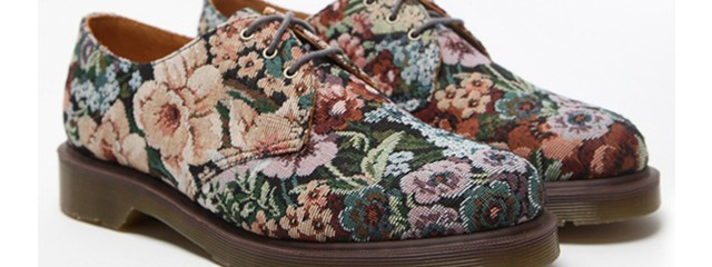 Manly Floral Shoes