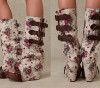 Floral Shoe Covering