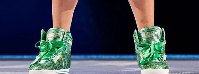 No Gold for Ryan Lochte&#039;s Shoes