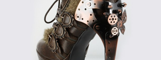 Steampunk Booties